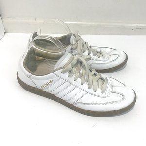 Adidas Spezial Low Top White Gold Handball Sneaker